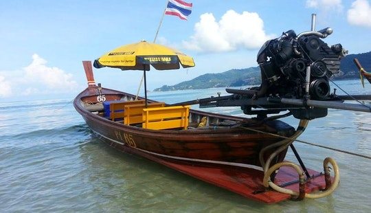 Charter A Longtail Boat In Phuket, Thailand