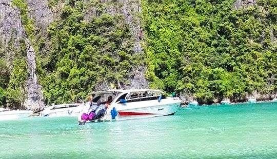 Charter A Motor Yacht In Tambon Pak Nam, Krabi For 25 Pax