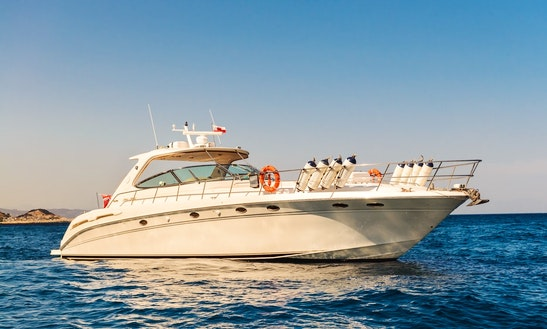 Charter 54' Sea Ray 540 Sundancer Power Mega Yacht In Gibraltar