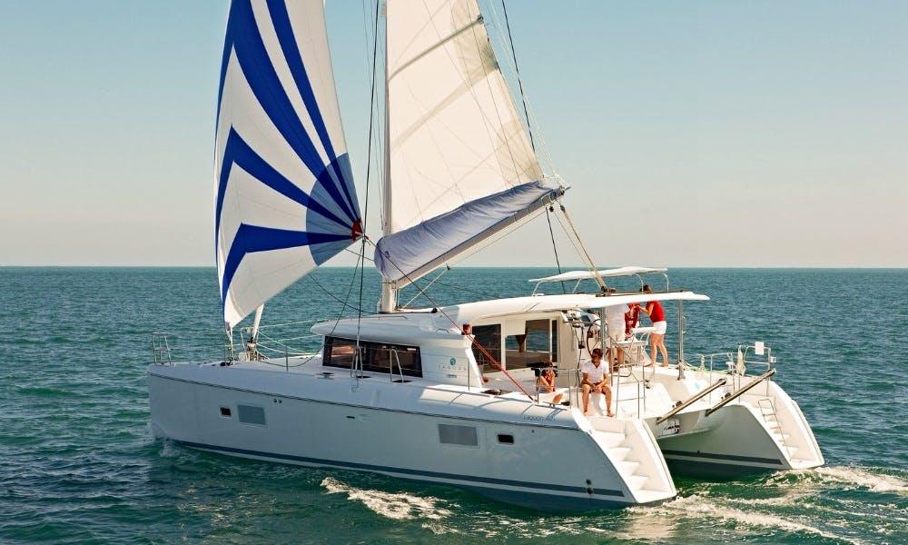 Charter 43' Blue Lagoon Cruising Catamaran in Pattaya Na Chom Thian, Thailand