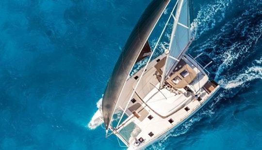 Charter 51' Lagoon Blue Odyssey Cruising Catamaran In Pattaya Na Chom Thian, Thailand