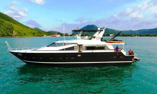 Charter 80' Scooby Doo Power Mega Yacht in Pattaya Na Chom Thian, Thailand
