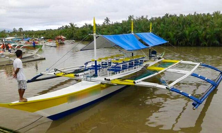 Charter a Traditional Boat in Daet, Philippines
