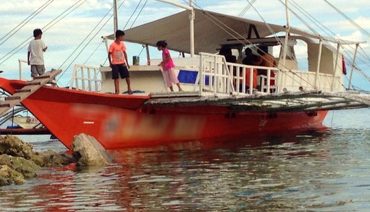 Traditional Boat Rental For 26 Person In Cebu, Philippines