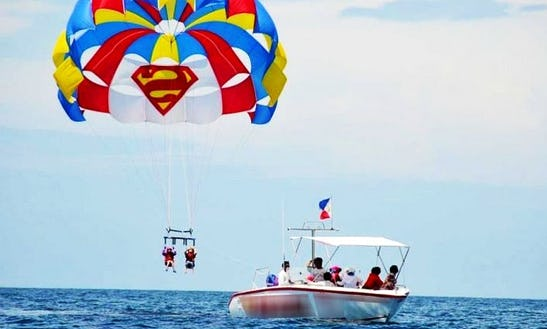 Fly Like Superman Parasailing In Malay, Philippines!