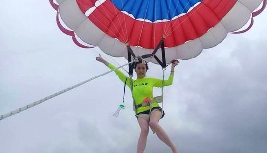 See Ko Samui From Hundreds Of Feet Above The Ocean Parasailing