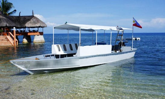 'sea Snake' Boat Diving In Alcoy - Philippines
