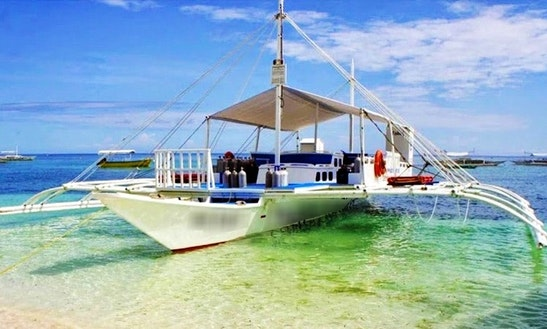 (25 Pax) Kaido Boat Tour In Alona Beach