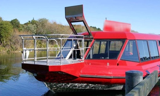 Passenger Boat Trips In Tauhara Forest, New Zealand