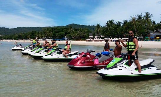 Jump The Wake On Your Personal Jet Ski Rental In Ko Samui