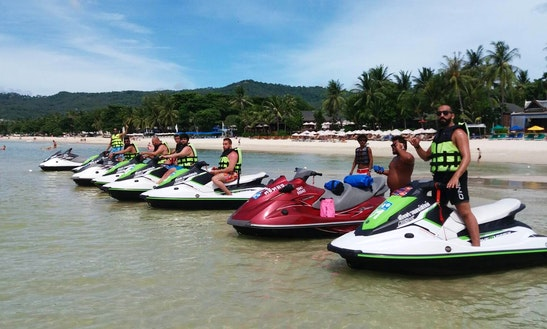 Jump The Wake On Your Personal Jet Ski Rental In Ko Samui