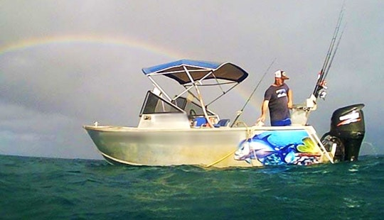 Charter Fishing In Bamaga, Queensland On 16' Center Console