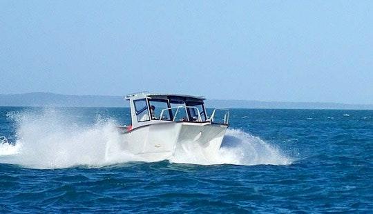 Charter Fishing In Bamaga, Queensland On 20' Power Catamaran