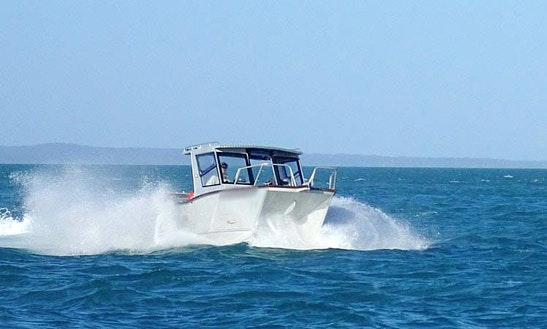 Charter Fishing In Bamaga, Queensland On 20' Power Catamaran