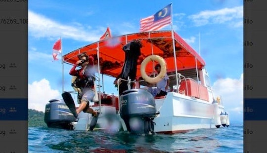Leisure Diving Trip In Kota Kinabalu