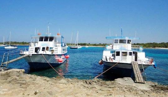 Cruising Catamaran In Ciutadella De Menorca