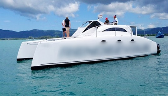 Charter A Power Catamaran