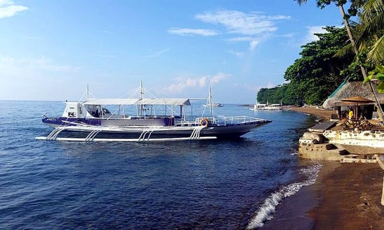Traditional Boat Diving Trips In Dumaguete Province, Philippines