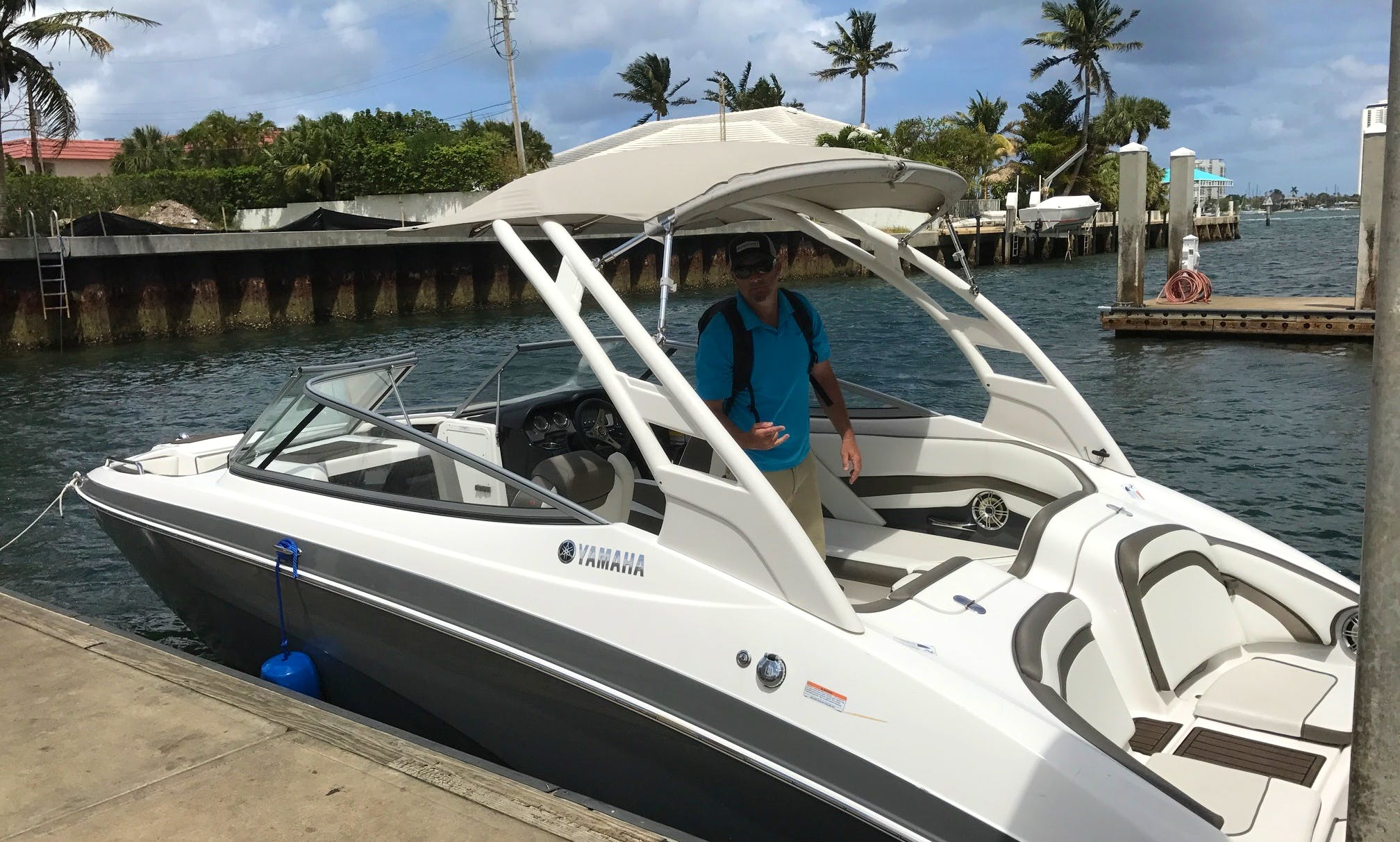 Exclusive Wakeboarding Adventure - 2016 Yamaha Bowrider in Riviera Beach, Florida