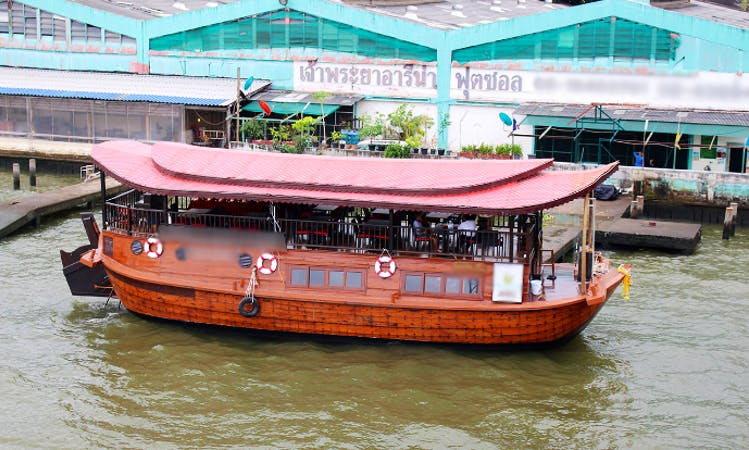 Charter a Canal Boat in Bangkok For a Day or Evening Cruise