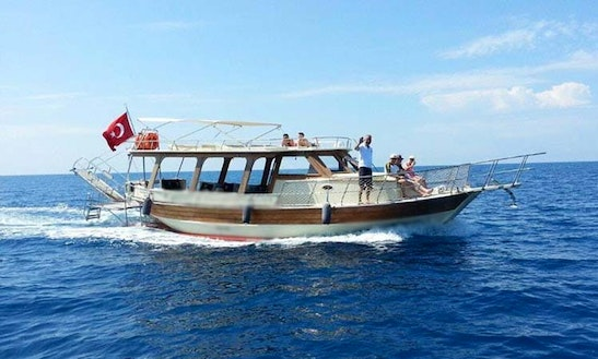 Food Included With This Yacht Charter Out Of Muğla, Turkey