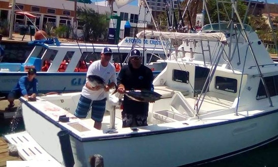 Fishing Charter On 45' Cabo Express Yacht In Cabo San Lucas, Mexico