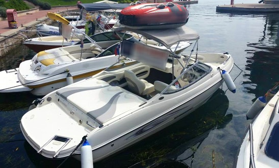 20' Stingray 185 Lx Deck Boat Rental In Portorož, Slovenia