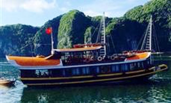 Explore Quảng Ninh, Vietnam On A Junk For Up To 9 People