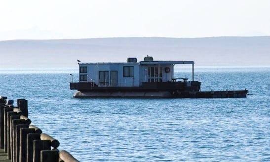 Live On The Water The Larus Houseboat In West Coast Dc, Western Cape
