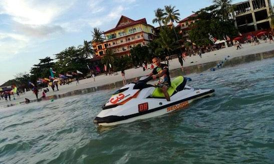 Amazing Jet Ski Ride In Langkawi, Malaysia