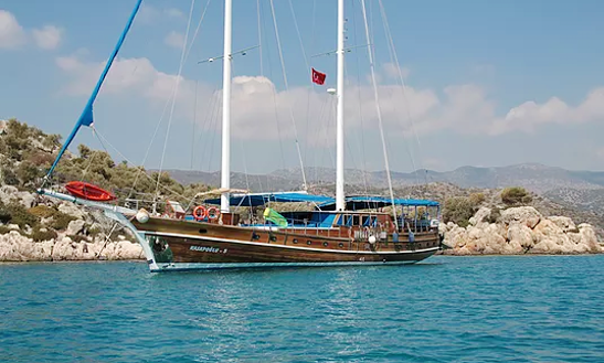 Charter 92' Kasapoglu 5 Traditional Boat In Antalya, Turkey