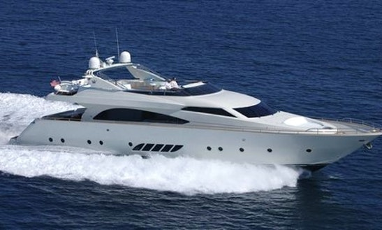 Charter 86' Dominator Power Mega Yacht In Portorož, Slovenia