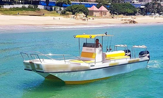 Enjoy Fishing In Mossel Bay, South Africa On Center Console