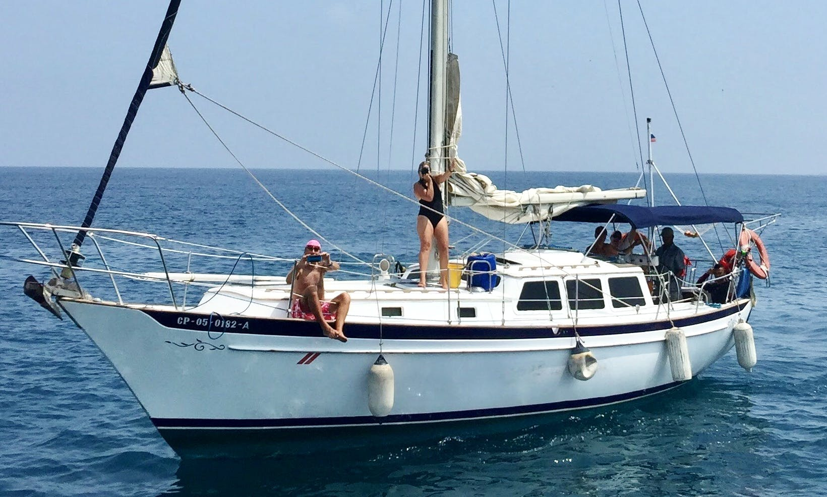 """Kanowa"" 36 feet sailboat for rent in Cartagena"