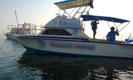 Enjoy Fishing In Denpasar, Bali On 31' Sport Fisherman