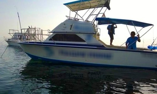 Enjoy Fishing In Denpasar, Bali On 31' Sport Fisherman