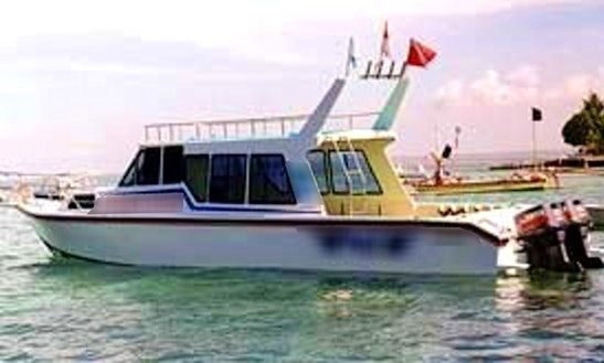 Enjoy Fishing In Denpasar, Bali On 31' Cuddy Cabin