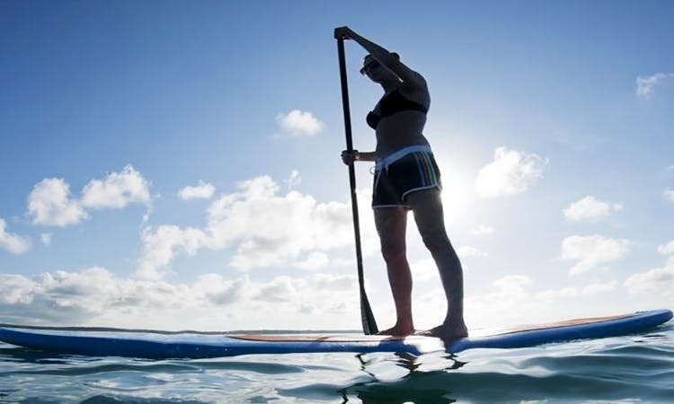 Stand Up Paddleboard in Malaga, Australia