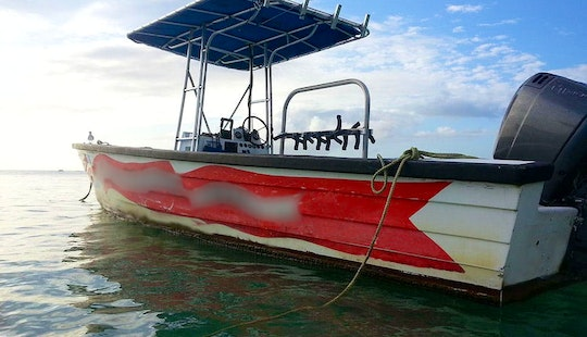 32' Center Console Diving Charter In Crown Point, Trinidad & Tobago
