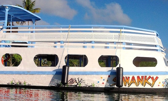 Glass Bottom Tour Boat & Bbq In Western Tobago