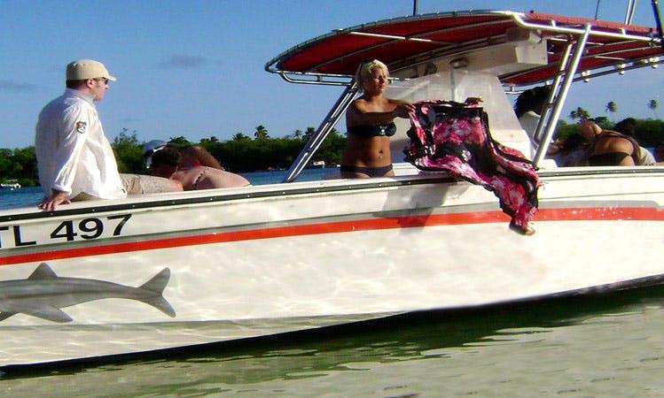 Speedboat Charter and Snorkeling in Western Tobago