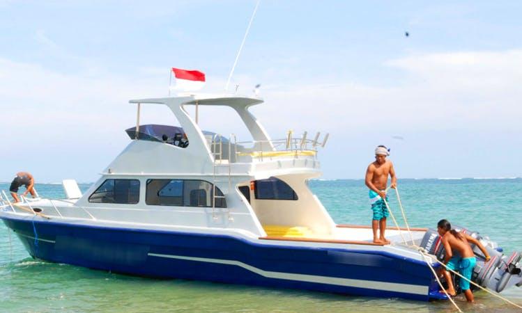 "Charter the ""Victoria"" Tour Boat in Bali, Indonesia"