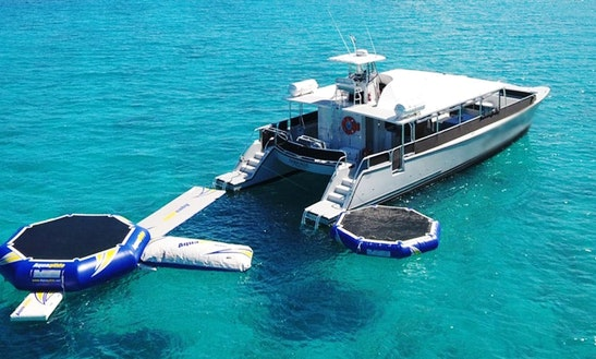 Power Catamaran Charter In St. Thomas
