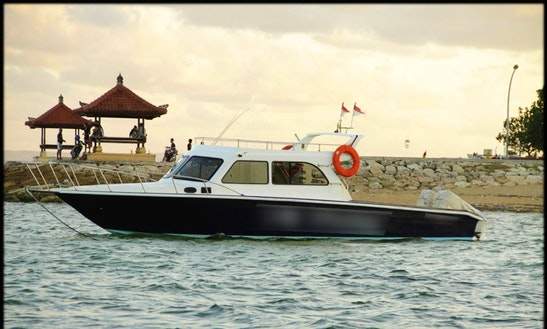 Enjoy Fishing In Denpasar, Bali On 42' Cuddy Cabin