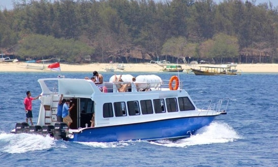 Ferry Services In Denpasar, Bali On Gili Getaway Iv Bullet Passenger Boat