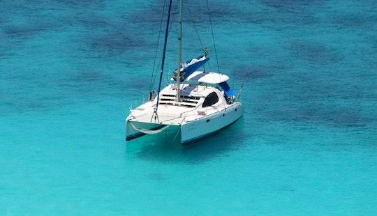 Charter 40' Leopard Cruising Catamaran In Plettenberg Bay, South Africa