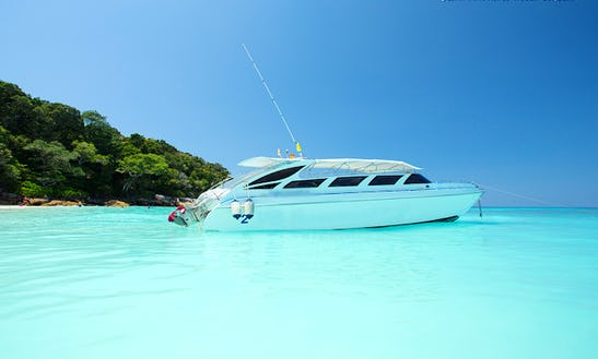 Private Speed Boat Rental In Koh Keaw