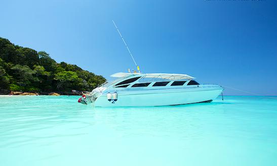 Private Speed Boat Rental In Koh Keaw