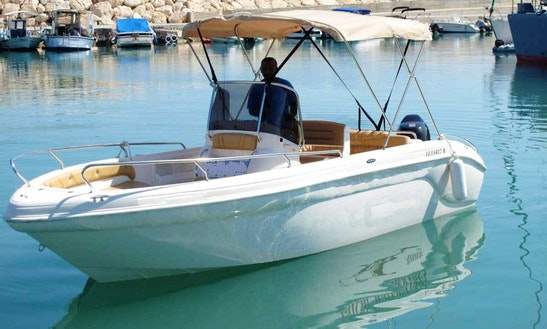 Charter Voyager 115hp Speedboat In Cyprus, Poli Crysochous