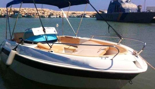 70hp Eden Speedboat In Cyprus, Poli Crysochous